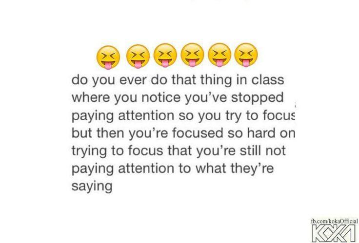 I cant focus in boring classes