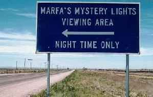 Marfa lights in Marfa, TX-yes we did see them and yes we froze while watching for them. Its in the middle of the desert and we had shorts on at night-real smart!