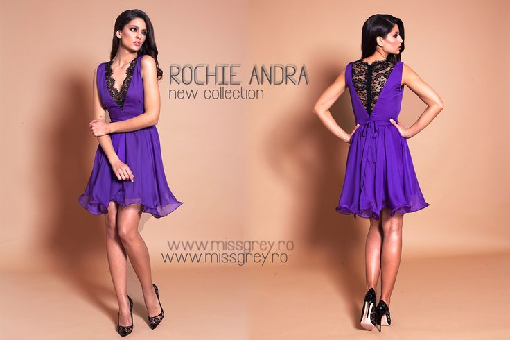 Be eccentric now. Don't wait for old age to wear purple - choose the short elegant dress Andra, from our new collection: https://missgrey.ro/ro/colectii/rochie-andra-mov/307?utm_campaign=colectie_aprilie&utm_medium=andra_mov&utm_source=pinterest_produs