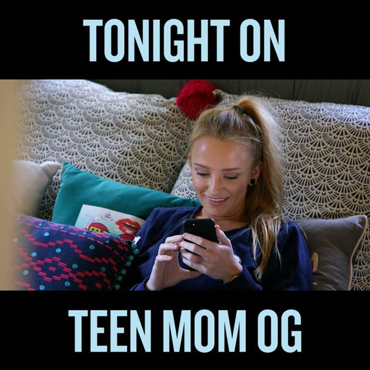 Is this the final straw for Maci when it comes to Ryan's relationship with Bentley? Don't miss Teen Mom OG tonight at 9/8c on MTV!