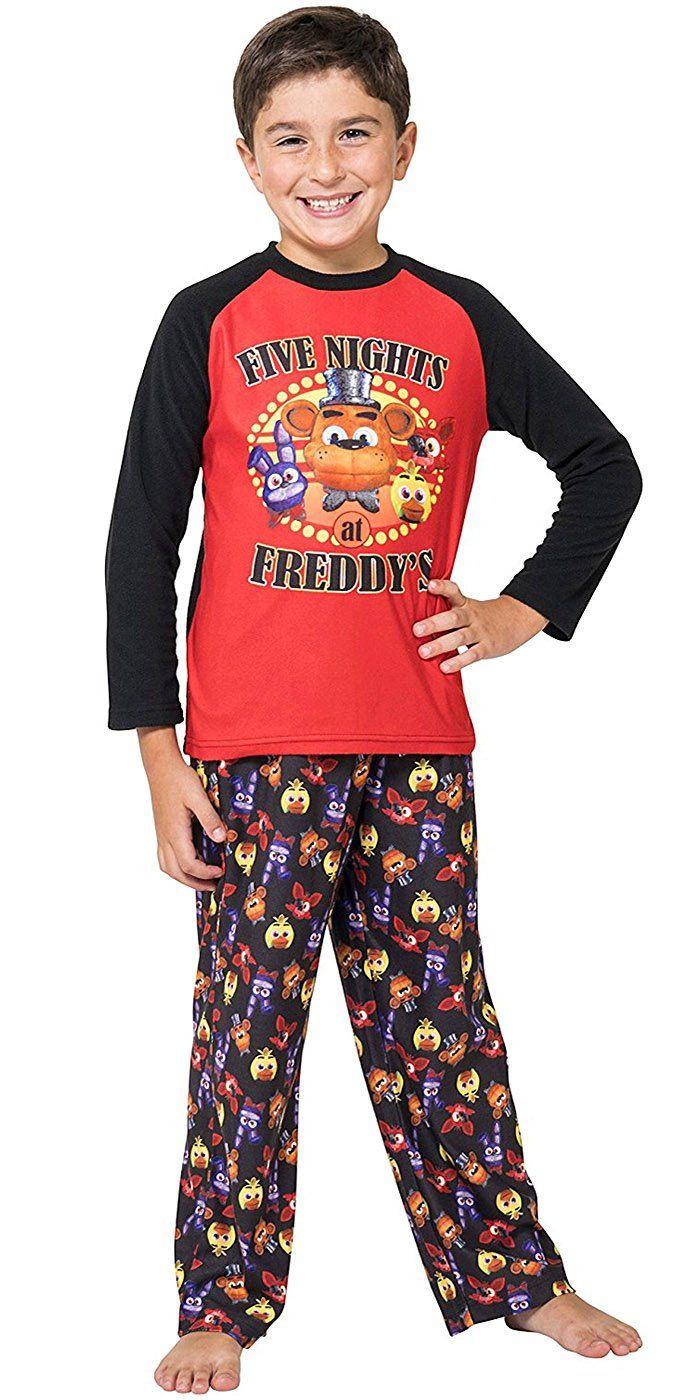 I Survived Five Nights at Freddys FNAF Cotton Boys Long Pyjamas