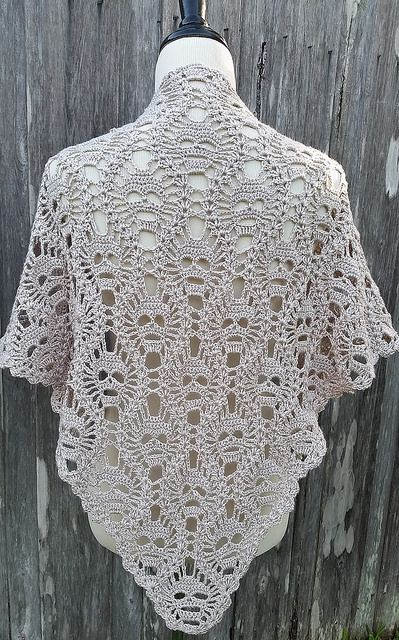 Ravelry: Project Gallery for Lost Souls Skull Shawl pattern by Maryetta Roy