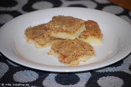 Recept - Havretosca i långpanna