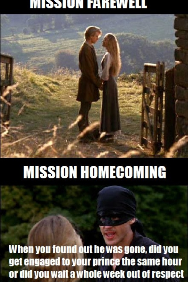 Hahaha. The Princess Bride and Mormon references. Some of my favorite things.