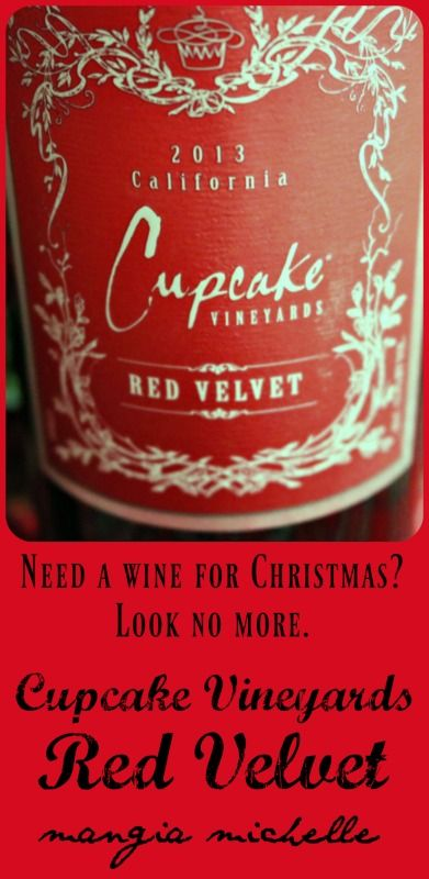 Cupcake Red Velvet wine is a smooth, easy to drink wine that can be enjoyed at any time ~ www.mangiamichelle.com
