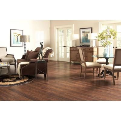 Farmstead Hickory 12 Mm Thick X In Wide X In Length Laminate Flooring 12 Sq Ft