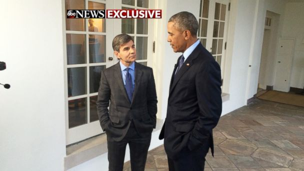"""In an interview with ABC's George Stephanopoulos that aired Sunday, President Obama said that while he wouldn't necessarily call Donald Trump a friend, he was getting along with him in their talks since the election. """"You know, I've enjoyed the conversations that we've had,"""" Obama said. Obama said that he and Trump were """"sort of …"""