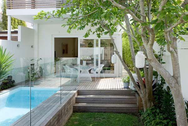Backyard Swimming Pools and Small Ponds, Beautiful Backyard Ideas