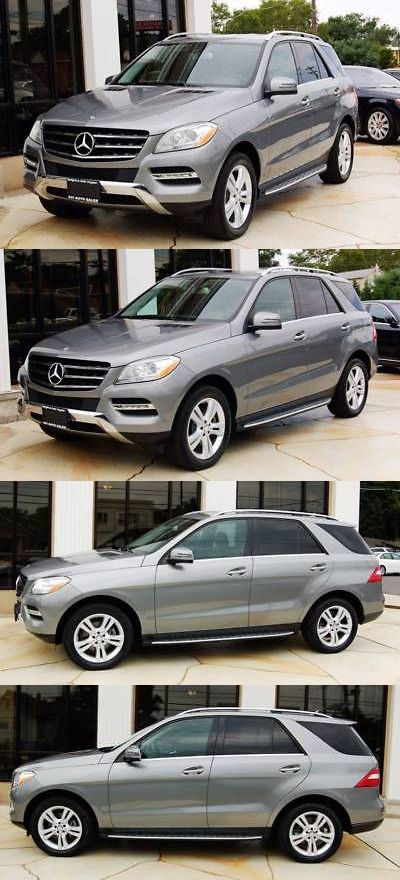 SUVs: 2015 Mercedes-Benz M-Class Ml 350 4Matic Awd 4Dr Suv 2015 Mercedes-Benz M-Class Ml 350 4Matic Awd 4Dr Suv Suv 3.5L V6 Gray Automatic -> BUY IT NOW ONLY: $8100 on eBay!