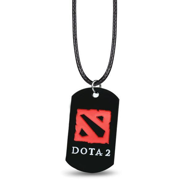 DOTA 2 Logo Metal Alloy Necklace - OtakuForest.com