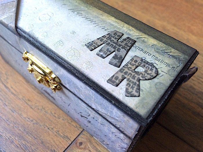 Personalized Treasure Chest for a Man   Creator's Image Studio