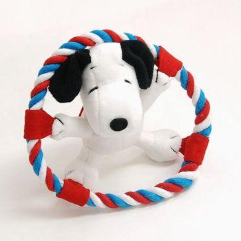 Rakuten: SNOOPY: Banzai rope toy