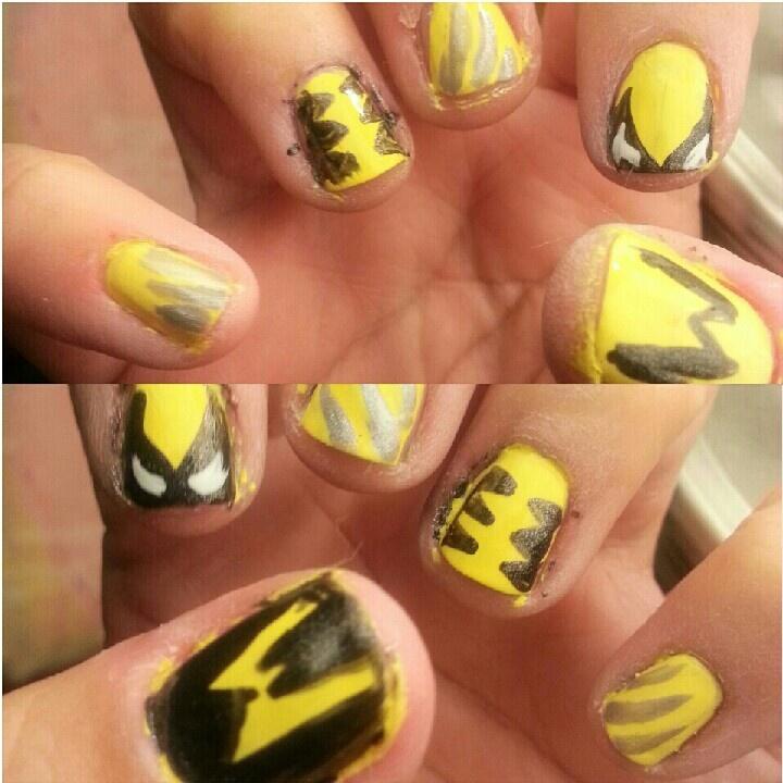 #Wolverine nails #X-men #nailart