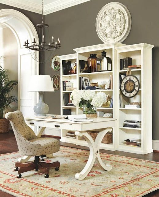 Home Office Color Schemes: 1000+ Ideas About Home Office Colors On Pinterest