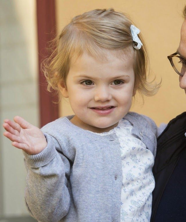 MYROYALSHOLLYWOOD FASHİON:  Princess Estelle attended her first day of pre-school, Stockholm, August 25, 2014