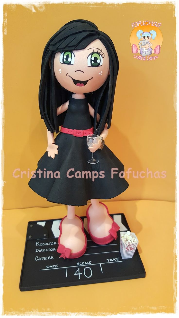 Cristina camps fofuchas es un blog donde podréis encontras muñecas personalizadas y todo lo relacionado con el mundo de la goma eva.