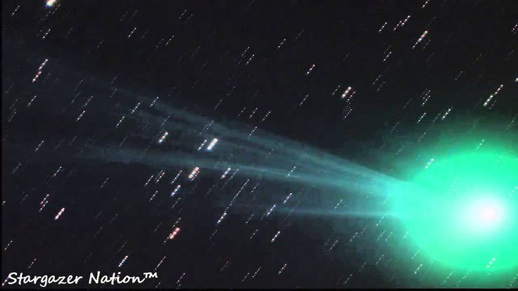 Comet Lovejoy (C/2014 Q2) At Its Brightest (Time Lapse)