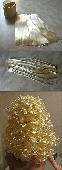 Волосы для кукол | вязания | Постила