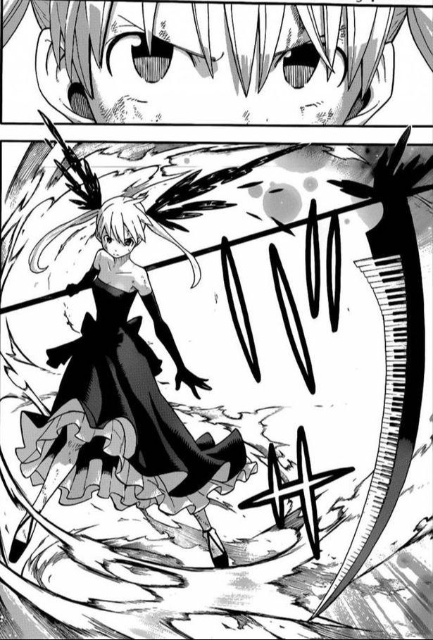 Maka And Soul Eater as Death Scythe | Soul Eater ...