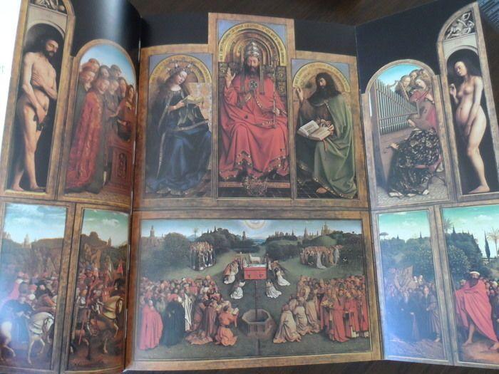 Van Eyck - Lot with 2 books - 1980/2002  Elisabeth Dhanens - Van Eyck - Antwerpen Mercatorfonds 1980 - 399 pp. - Gebonden uitgave met stofomslag in schuifdoos. In perfecte staat. Taal: FransEen zeer indrukwekkende en mooi geillustreerde uitgave met het werk van Hubert en Jan van Eyck.Till-Holger Borchert - De Eeuw Van Van Eyck 1430-1530. De Vlaamse primitieven en het Zuiden - Ludion 2002 - 31 x 249 cmTaalNederlands  EUR 1.00  Meer informatie