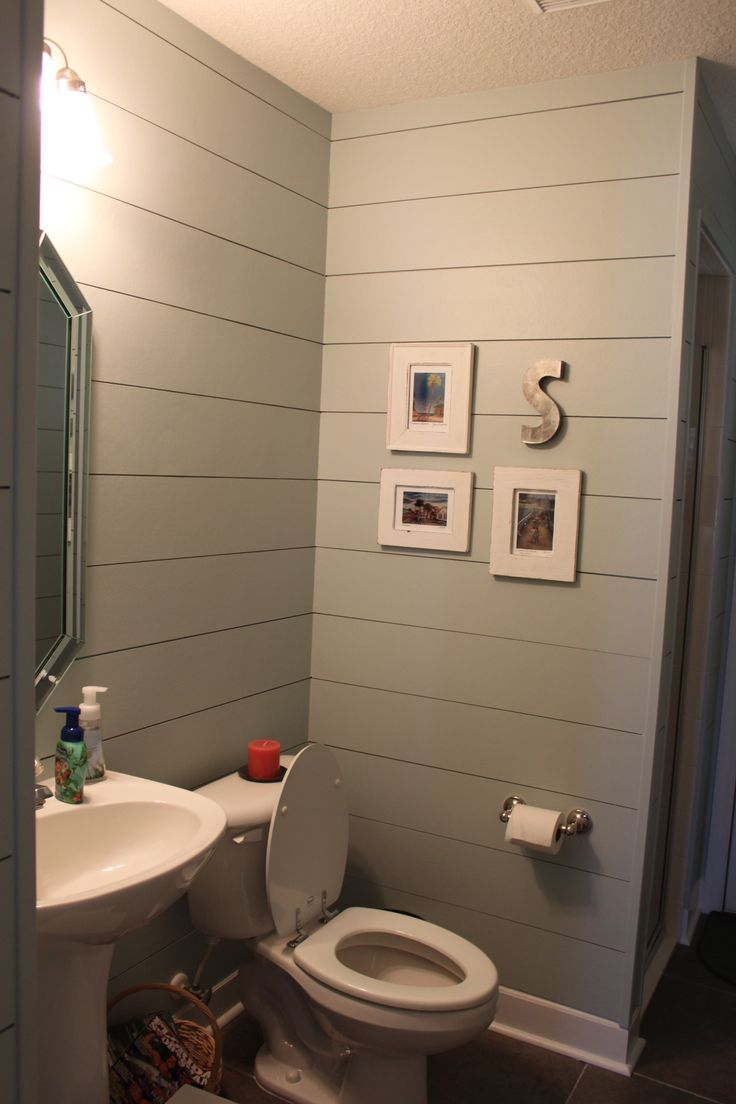Smooth hardiplank to look like shiplap bathrooms Bathroom design service cardiff