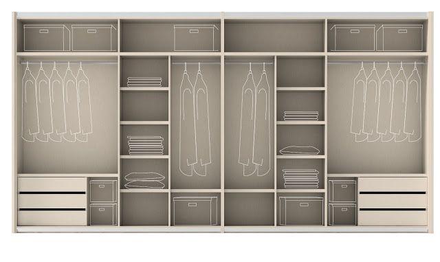 M s de 25 ideas incre bles sobre armarios empotrados en - Revestir armario empotrado ...