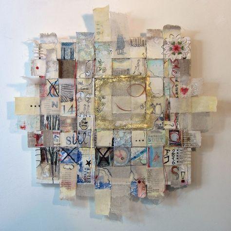 – Weft & Weave – por Desiree Jacobs. Serie: Un lug…