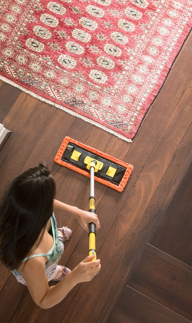 Floor cleaning that cleans every floor type, chemical free.