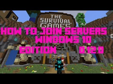 How To Join Servers On Minecraft PE Windows 10 [12.0] - http://dancedancenow.com/minecraft-lan-server/how-to-join-servers-on-minecraft-pe-windows-10-12-0/