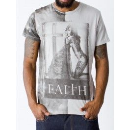 RELIGION CLOTHING FAITH SS CREW NECK TEE - T-shirts - Menswear