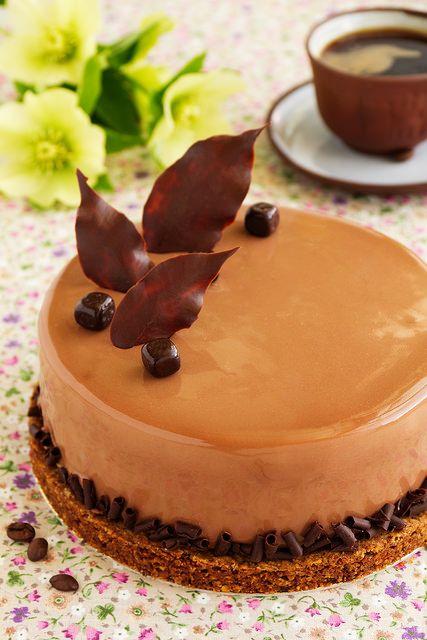 Кофейный торт с амаретто. - Люблю готовить.