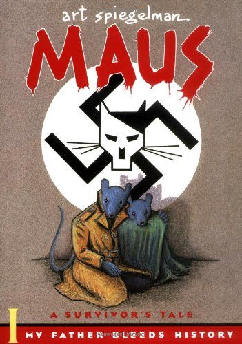 Maus I: A Survivor's Tale: My Father Bleeds #History/Art Spiegelman A very good graphic novel based on WW2 , so far. I'm loving it :D
