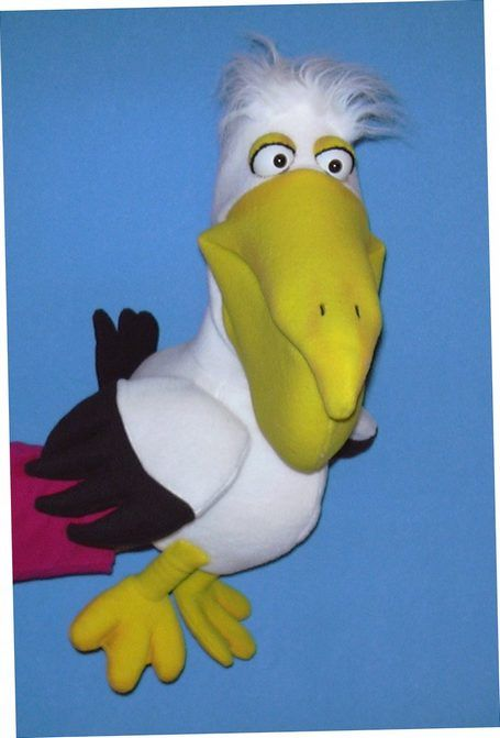 Pelican puppet, Puppet for sale