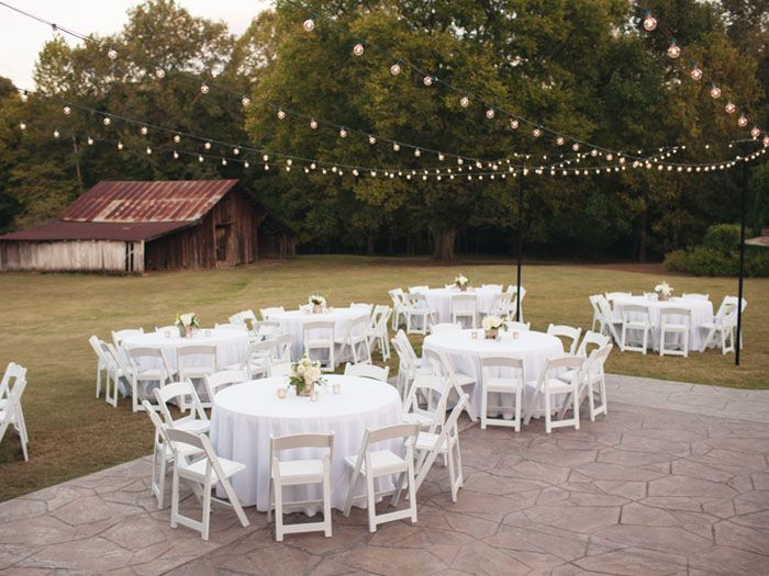 Outdoor Reception Venues In Birmingham Alabama The Sonnet House Photo By Rob
