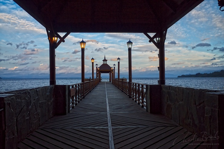 The Pier By Charles Brooks Frutillar, Chile