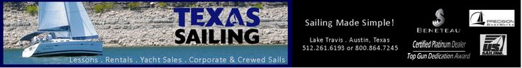Sailing Lessons through Texas sailing, they offer higher levels of training then ayc but are more expensive.