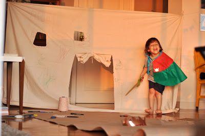 Estéfi Machado: Castelo de lençol