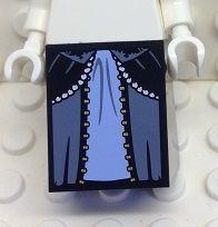 Kjol svartblå