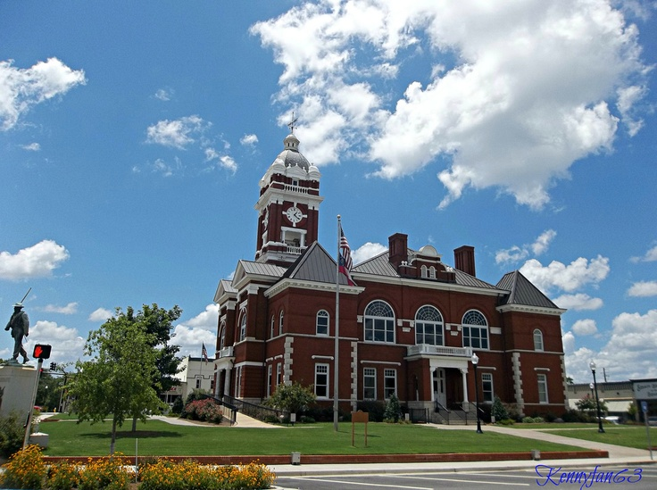 This Photo Of The Monroe County Courthouse Was Chosen To Be On The Cover Of  The