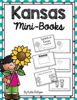 Kansas Mini Books - These are perfect for celebrating Kansas Day!
