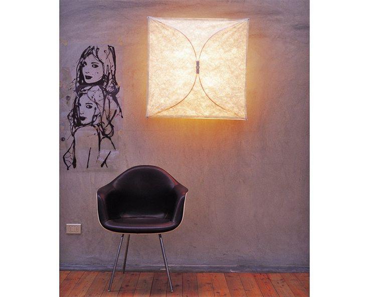 Flos - Ariette Wand- und Deckenleuchte quadratisch - Tobia Scarpa , 189,00€
