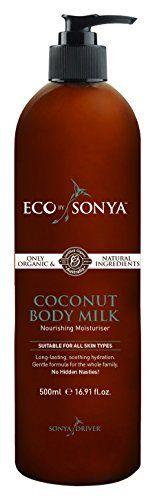 Eco by Sonya Eco Tan, Organic Coconut Body Milk Eco by Sonya https://www.amazon.com/dp/B011QQAT1G/ref=cm_sw_r_pi_dp_x_ZHbIybJDHB08V