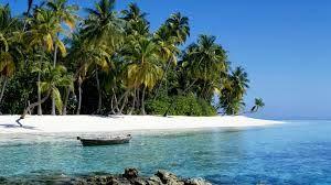 My own tropical island...you said 'Think Big'.