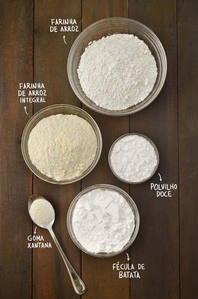 Como fazer mistura de farinha sem glúten – Tempero Alternativo