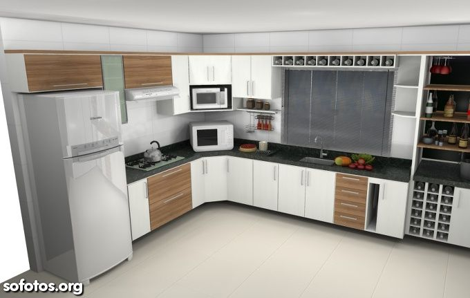 cozinha planejada com janela - Pesquisa Google