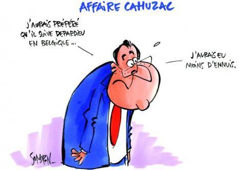 AFFAIRE CAHUZAC • Une élite politique qui se croit au-dessus de tout | Courrier international