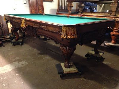 9u0027 Charles Porter Renaissance Canterbury Pool Table   Sheridan Billiards |  Colorado Pool Tables | Denver Pool Tables, Store, Sales, Service And  Accessories ...