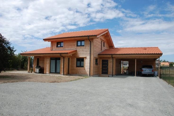 Villa KOTI maison en bois en madriers contre-collés Ikihirsi