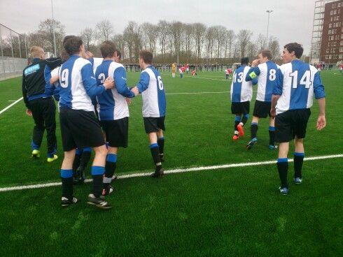 NEC -Pelikanen,  2-0 (5/2/2015)