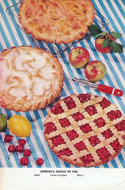 Betty Crocker Picture Cook Book - Pies 1956